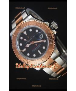 Montre Rolex Yachtmaster REF#116623 Deux tons Mouvement SuisseCal.3135 Répliquée à l'identique 1:1 — Montre en acier ultime 904L