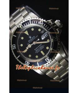 Montre à Mouvement Japonais Rolex Submariner Edition 1680 Vintage