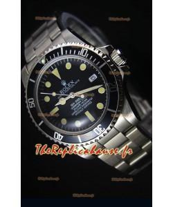 Montre Replica Japonaise de Style Vintage Rolex Sea Dweller Submariner 2000