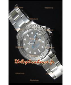 Cadran Gris Rolex Yachtmaster 1:1 Reproduction de Montre Suisse