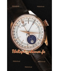 Rolex Cellini Moonphase Or rose REF# 50535 Montre Réplique Suisse