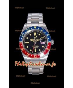 Montre Rolex GMT Master 1675 PEPSI Vintage Edition Réplique Suisse
