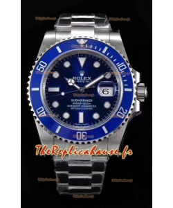Rolex Submariner Ref#126610LB ETA3135 Replique 1:1 Miroir 904L Montre en acier 41MM