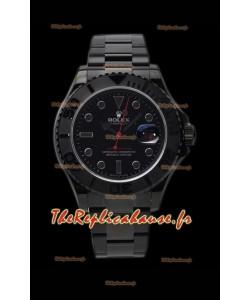Rolex Yachtmaster Blackout Edition 1:1 Réplique de la montre suisse