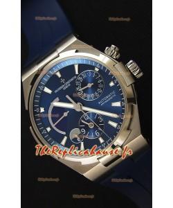 Vacheron Constantin Overseas Dual Time cadran bleu Montre Réplique Suisse