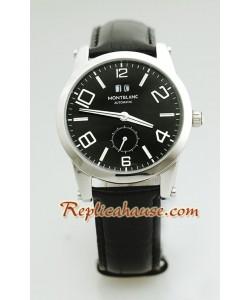 Mont Blanc Replique Timewalker - Leather Montre