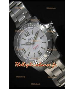 Réplique de montre automatique Ball Hydrocarbone Spacemaster sur cadran blanc - mouvement Citizen original
