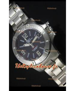 Réplique de montre automatique Ball Hydrocarbone Spacemaster sur cadran noir - mouvement Citizen original