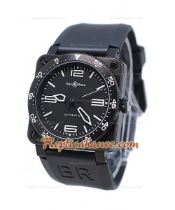 Bell and Ross BR 03 Type Aviation Carbon Montre Suisse