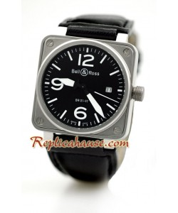 Bell and Ross BR01-97 édition Montre Replique - Mid Sized