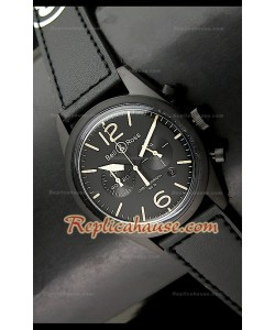 Bell and Ross BR94 Aviation Type Japanese Montre