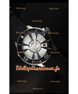 Réplique de montre suisse Édition spéciale 500 Phatoms Blancpain avec cadran blanc