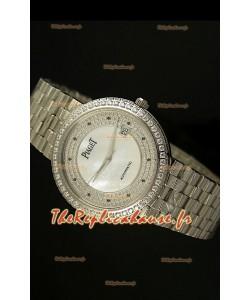 Réplique de montre suisse automatique Piaget Altiplano en acier inoxydable