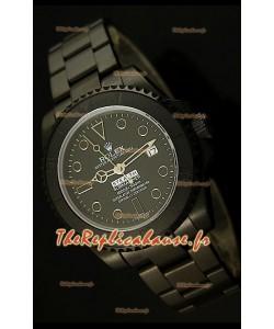 Réplique de montre suisse Édition STEALTH MK IV Rolex Submariner avec bracelet en PVD