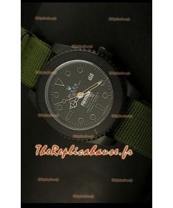 Réplique de montre suisse Édition STEALTH MK IV Rolex Submariner avec bracelet vert