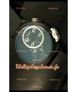 Réplique de montre japonaise Welder K23 Duo Side dans boîtier en PVD