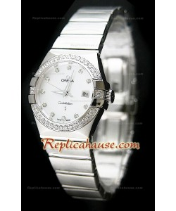 Omega Constellation Femmes Swiss Automatic Montre – 28 mm