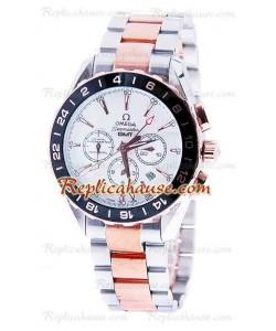 Omega Seamaster Aqua Terra GMT Chronograph Montre Replique