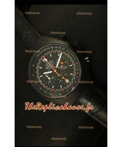 Chronographe coaxial Omega Speedmaster MARK II avec boîtier en PVD