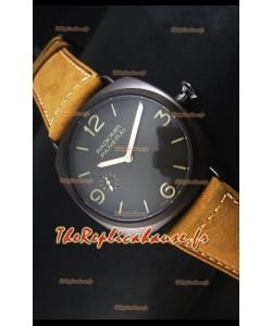 Réplique de montre suisse Panerai Radiomir 3 Days PAM00504 Composite avec mouvement P.3000