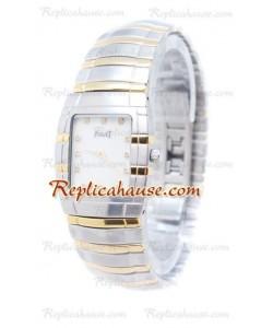 Piaget Tonneau Limelight Two Tone Diamonds Montre