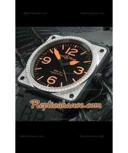 Bell and Ross BR01-92 PVD Swiss Montre