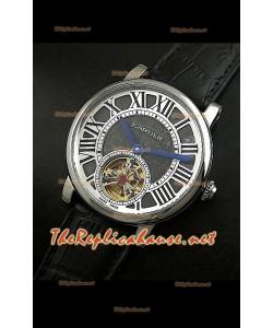 Cartier Calibre Japanese Tourbillon Montre Bracelet Noir
