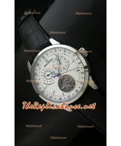Jaeger LeCoultre Duometre Chronograph Montre en Acier