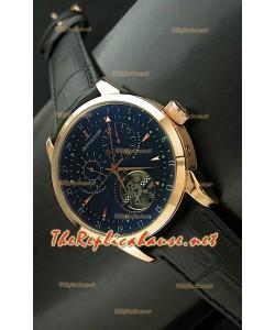 Jaeger LeCoultre Duometre Chronograph Montre en Or Rose
