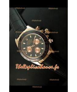 Rolex Cosmograph Daytona Reproduction Montre Japonaise - Sous-Cadrans Mis a Jour