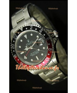 Reproduction Montre Suisse Rolex GMT Masters II - Mouvement 2013 Mis à Jour