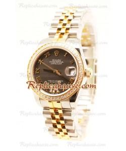 Rolex Datejust Diamond VI Japonais Montre Replique - 36MM