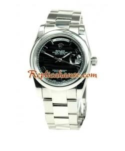 Rolex Replique Day Date Silver Montre