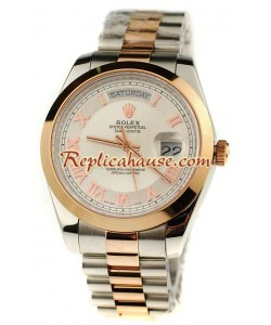 Rolex Replique Day Date Two Tone Montre Suisse