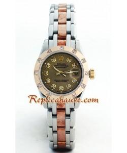 Rolex Replique DateJust - Two-tone-Lady's(Rose d' or)