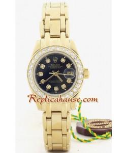 Rolex Replique DateJust - d' or Lady's