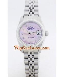 Rolex Replique DateJust - Silver-Lady's
