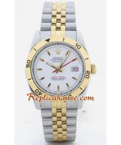 Rolex Replique DateJust - Turn O Graph - Two Tone