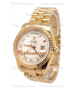 Rolex Day Date II d' or Montre Suisse Replique