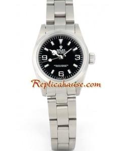 Rolex Replique Explorer I - Silver Lady's
