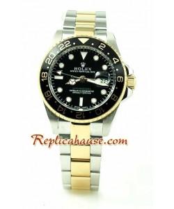 Rolex Replique GMT Two tone Montre Replique