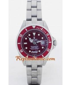 Rolex Submariner Replique - Coca Cola édition - Femmes