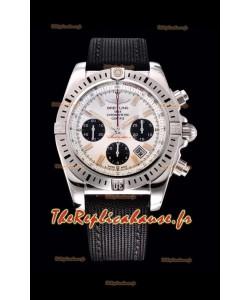 Breitling Chronomat Airbone montre réplique en cadran blanc à miroir 1:1