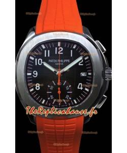 Patek Philippe Aquanaut 5968a montre réplique chronographe à miroir 1:1