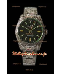 Rolex Milgauss 116400 MadeWorn montre suisse réplique