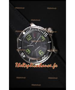 Reproduction de Montre Suisse Blancpain 500 Fathoms avec un Cadran Gris - 1:1 Edition Miroir