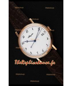 Montre Breguet Classique5177BA/29/9V6 en or rose avec index arabes