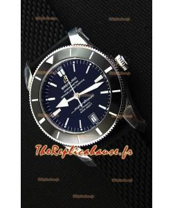 Montre Breitling SuperOcean HeritageII B20 42mm Suisse cadran noir Réplique à l'identique - 1:1 Édition miroir