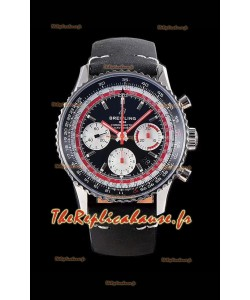 Breitling Navitimer 1 B01 Chronographe SWISSAIR Edition 43MM - 904L 1:1 Montre miroir réplique