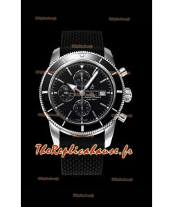 Breitling SuperOcean Heritage II 44MM Montre réplique suisse à cadran noir